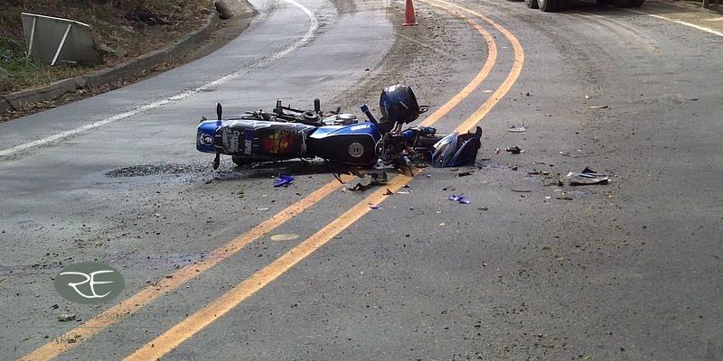 Cuales son las lesiones más frecuentes en accidentes de moto